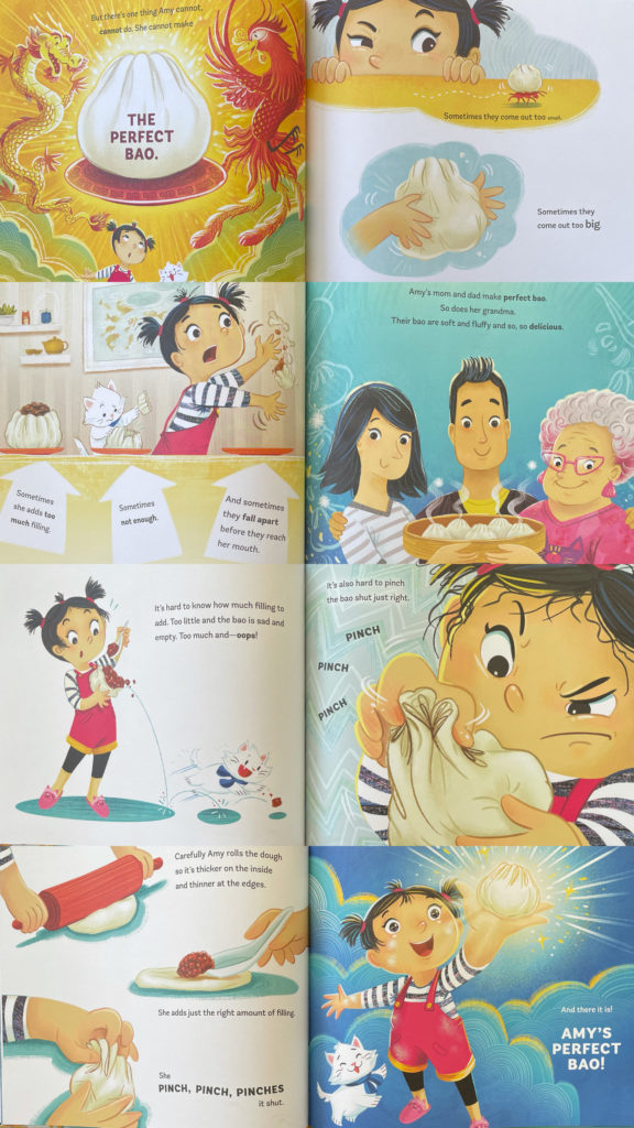 Amy Wu and the Perfect Bao by Kat Zhang, Illustrated by Charlene Chua; Chinese / Taiwanese food culture book for kids