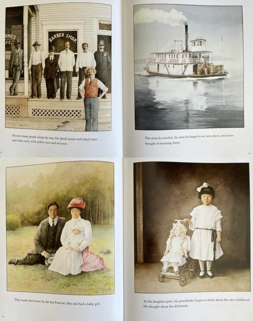 Grandfather's Journey by Allan Say - Japanese American picture book for kids