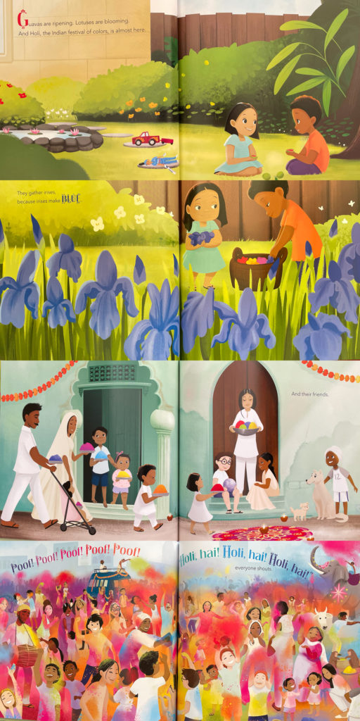 Holi · Festival of Colors by Kabir Sehgal and Surishta Sehgal - Hindu South Asian Indian book for kids