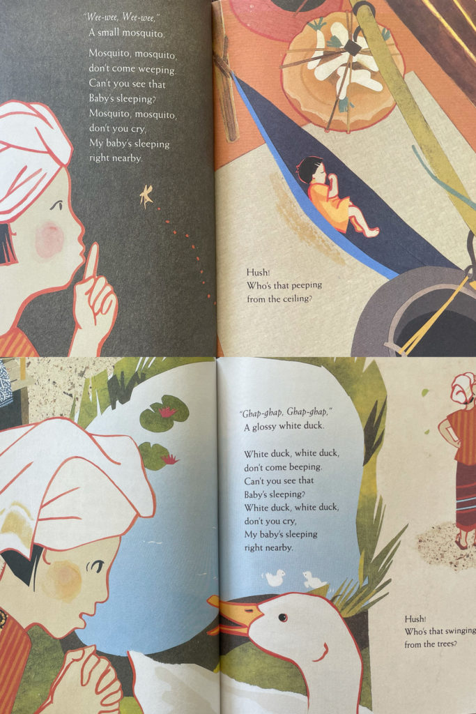 Hush! A Thai Lullaby - picture book with Asian family; calming for bedtime story