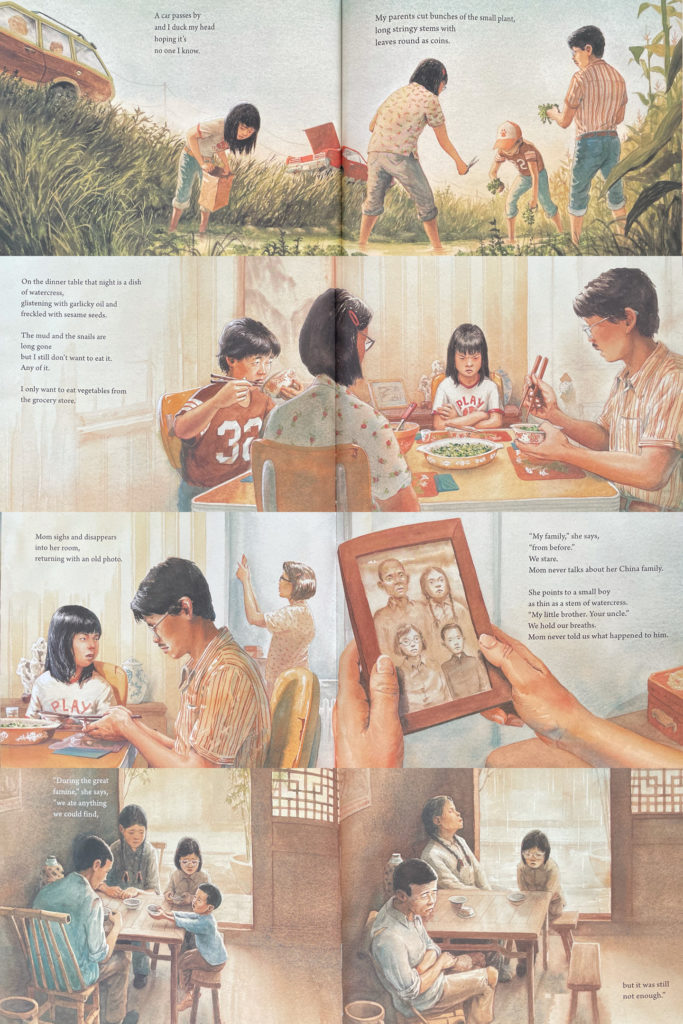 Watercress by Andrea Wang, illustrated by Jason Chin