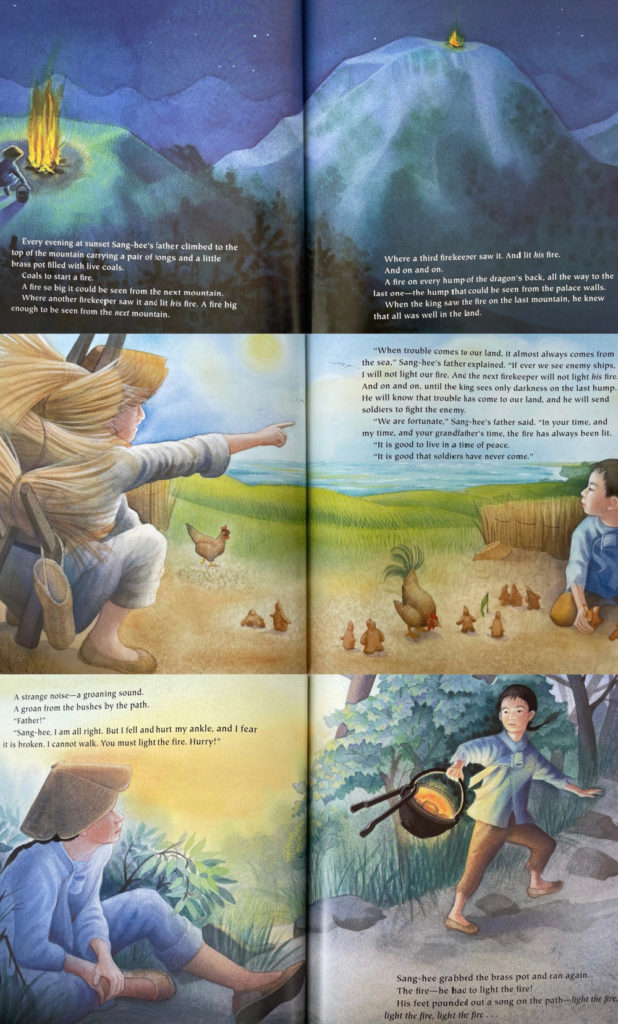 Firekeeper's son - picture book about Korean culture and history