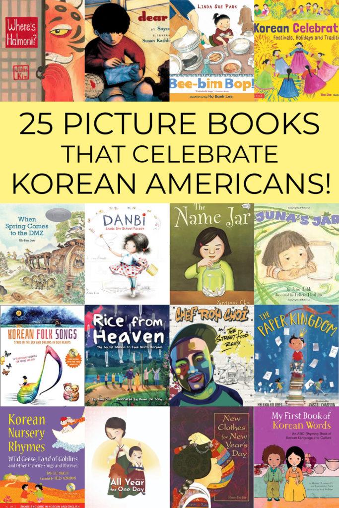 Children's picture books about Korean Americans