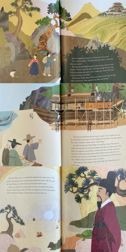 Turtle Ship by Helen Ku Rhee - Korean picture book about history