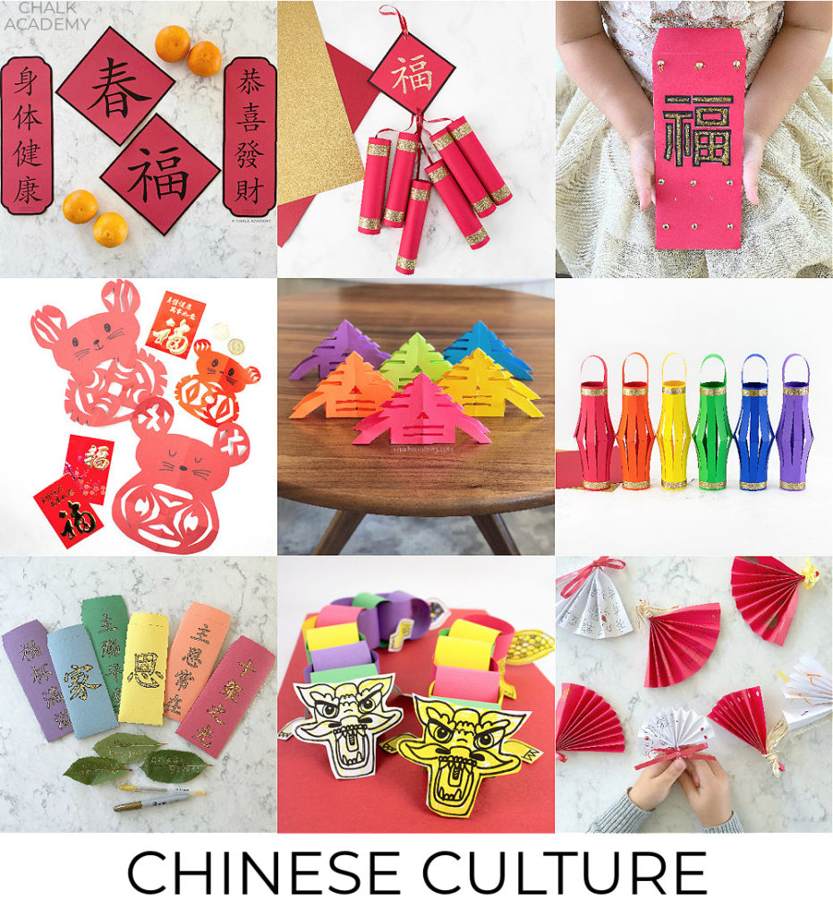 Bilingual Chinese cultural learning activities for kids